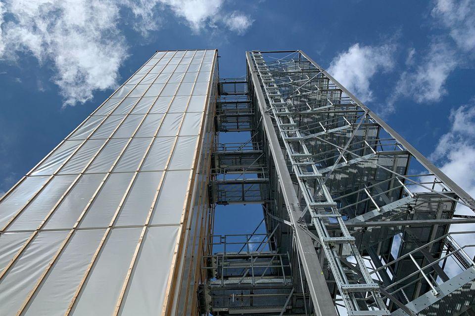 Architektur: Ein Hochhaus mit Muskeln: Gebäude in Stuttgart passt sich seiner Umgebung an
