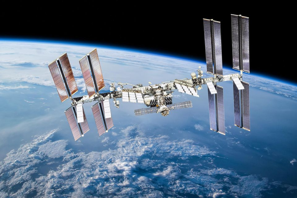 ISS Raumstation im All