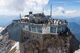 Gipfelplateau  auf der Zugspitze