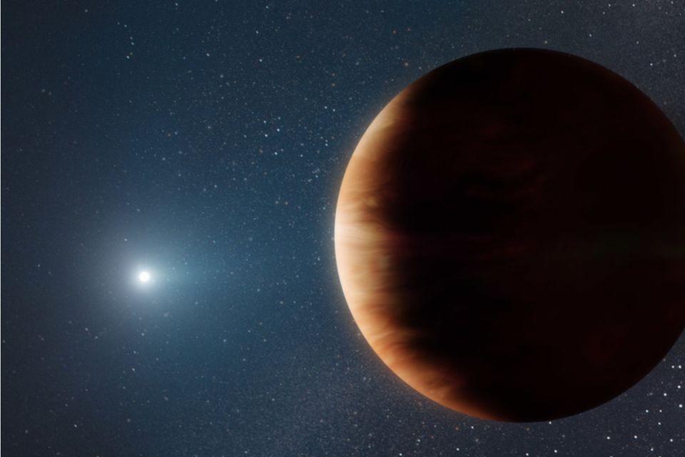 Blick in die Zukunft: Simulationen zeigen, dass Planeten in jupiterähnlichen Umlaufbahnen die Gezeitenkräfte eines Roten Riesen überstehen können