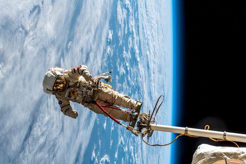 Außenbordeinsätze an der Raumstation gehören zu den riskantesten Operationen im All