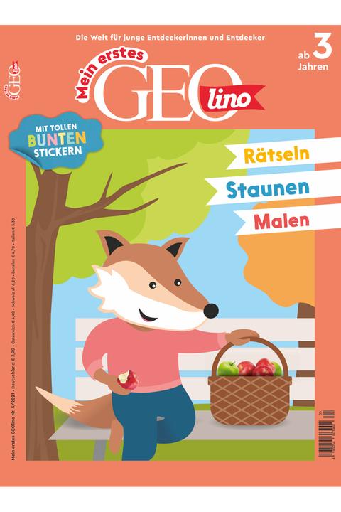 Mein erstes GEOlino Ausgabe 05-2021