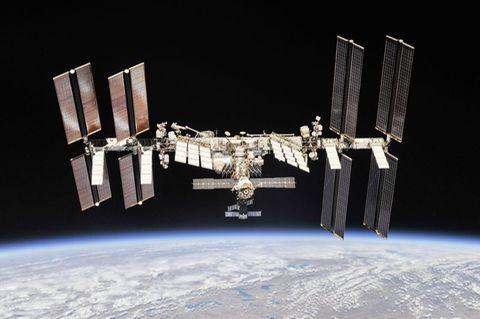 ISS im Weltall