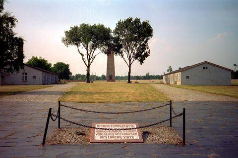 """Gedenken an die Opfer des Nationalsozialismus: Hier befand sich im """"Dritten Reich"""" der Galgen des Konzentrationslagers Sachsenhausen"""